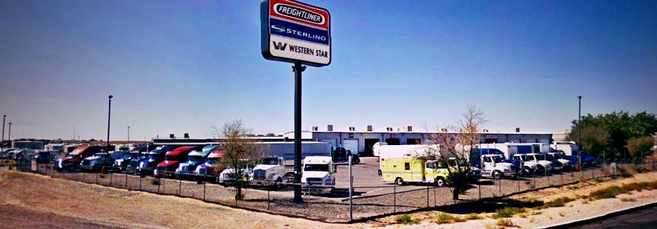 Ltg albuquerque new mexico freightliner western star for Albuquerque mercedes benz dealerships