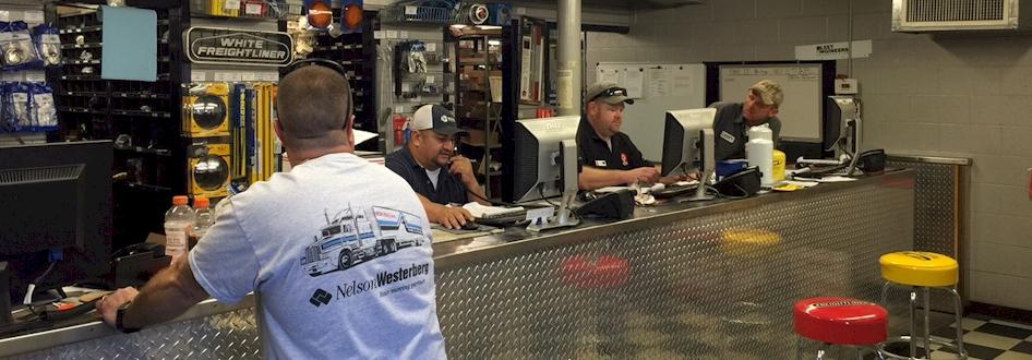 Wichita Falls Parts Counter