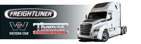 Freightliner, Western Star trucks -- Many trailer brands