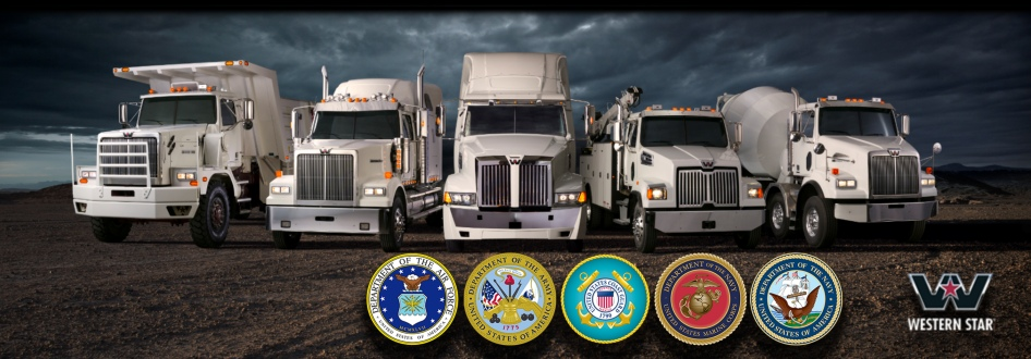 Freightliner, Western Star trucks -- Many trailer brands ...